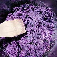 紫薯糯米饼【电饼铛】的做法图解1