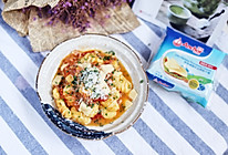 土豆也洋气,芝士意大利土豆面疙瘩佐番茄卷心菜#秋天怎么吃#的做法