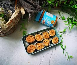 #四季宝蓝小罐#花生酱肉松寿司卷的做法