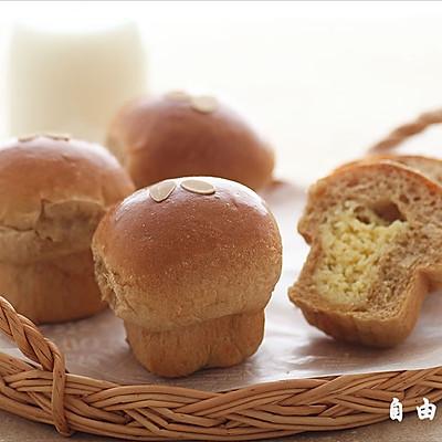 咖啡奶酥面包