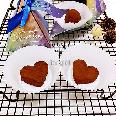 情人節禮物:香橙松露巧克力