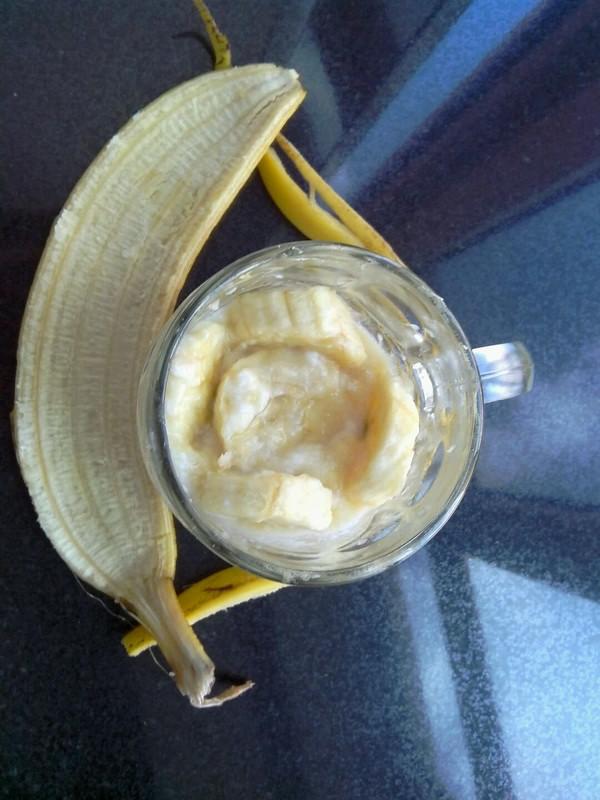 香焦酸奶的做法