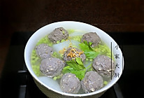 牛筋丸白萝卜汤的做法