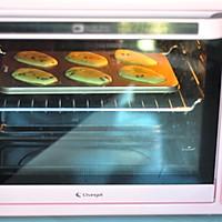 蓝莓烤年糕的做法图解9