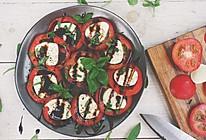 番茄罗勒配奶酪沙拉的做法