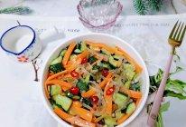 #少盐饮食 轻松生活#凉拌粉丝黄瓜的做法