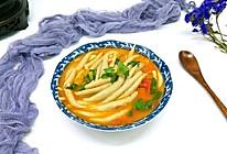 番茄莜面鱼鱼#每一道菜都是一台食光机#的做法