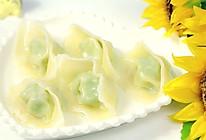 宝宝虾肉大馄饨 宝宝辅食,青菜+馄饨皮+小葱的做法