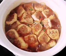 #美食视频挑战赛# 豆腐酿肉煲的做法