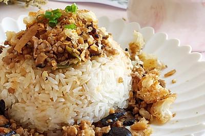 油条酥糯米饭
