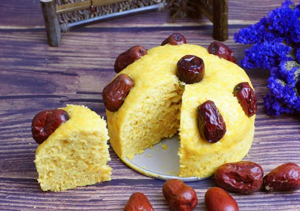 南瓜发糕#秋天怎么吃#的做法