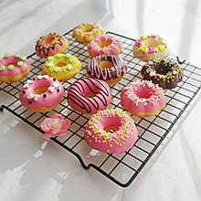 巧克力甜甜圈(烤箱版)#做道好菜,自我宠爱!#