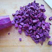 紫薯燕麦粥#急速早餐#的做法图解1
