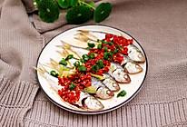 #爽口凉菜,开胃一夏!#剁椒清蒸海鲫鱼的做法