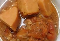 美容养生红糖芋头猪蹄煲的做法