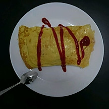 日式蛋包饭【三分钟的简易美味】