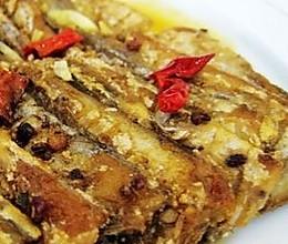 麻香煎带鱼 的做法