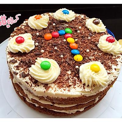 黑森林巧克力蛋糕8寸