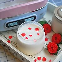 玫瑰花茶酸奶#樱花味道#的做法图解6