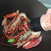 蒜蓉芝士焗龙虾的做法图解9