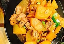 白萝卜炖排骨的做法