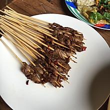 平底锅烤肉串