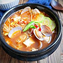 口感浓香且味道鲜美,经常喝还有助于消化的韩式大酱汤