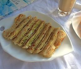 快手早餐—鸡蛋灌饼的做法