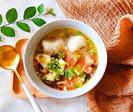 #夏日消暑,非它莫属#家常五宝鲜汤的做法