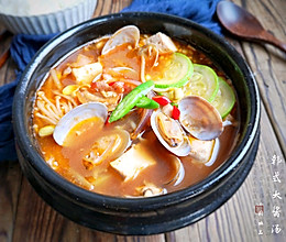 口感浓香且味道鲜美,经常喝还有助于消化的韩式大酱汤的做法