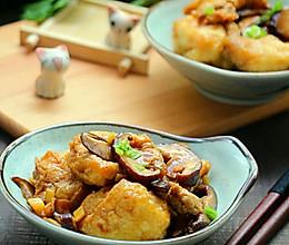 肉末香菇豆腐泡的做法