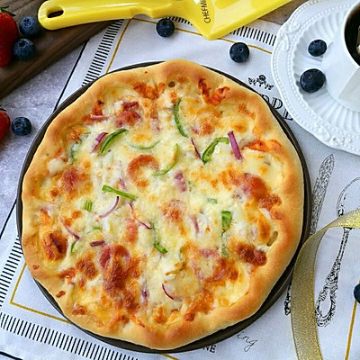 超爱De芝心披萨๑