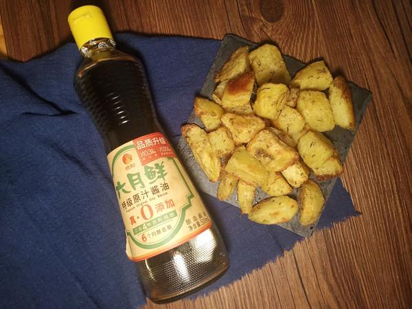 低热量小吃——百里香烤土豆的做法