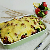 时蔬鸡肉咖喱焗饭(自制咖喱酱)#宜家让家更有味#的做法图解18