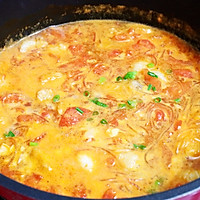 #入秋滋补正当时#龙利鱼粉丝番茄汤的做法图解15