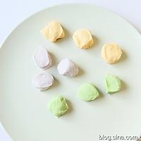 彩色饺子的做法图解3