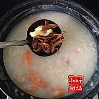 蛤蜊香菇虾仁煲的做法图解6