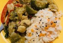 泰式青咖喱饭的做法