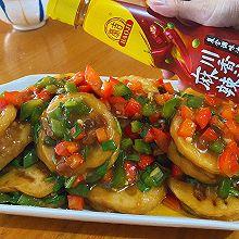 #豪吉川香美味#青红香煎藕盒