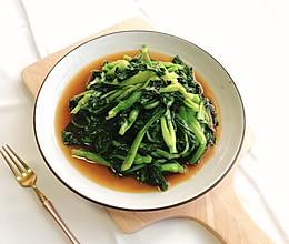 青炒鸡毛菜的做法