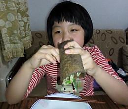 荞麦饼菜卷的做法