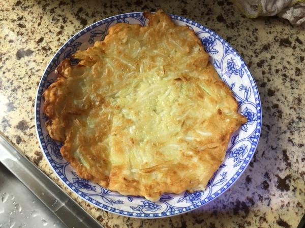 蒲瓜丝饼的做法