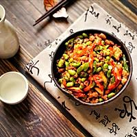 家常菜-辣椒毛豆炒肉沫的做法图解12
