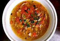 番茄杜仲腰花汤的做法