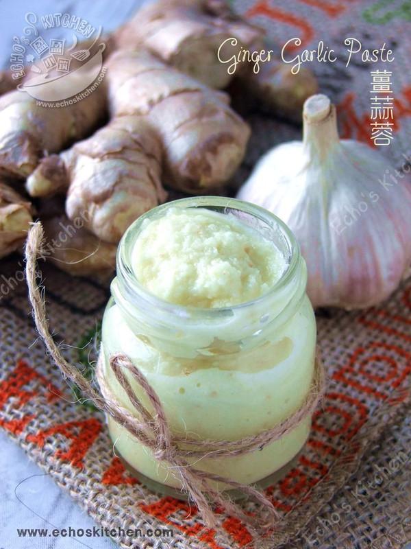 自制酱料 -- 姜蒜蓉的做法