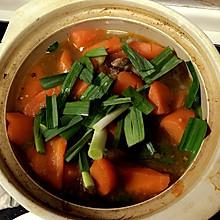 胡萝卜羊肉汤