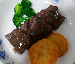 大喜大牛肉粉试用之——黑胡椒牛排的做法