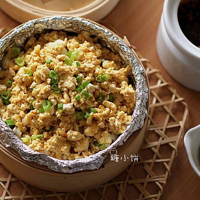 【鸡啄豆腐】碎豆腐和剩余咸蛋白的好去处