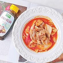番茄牛肉卷#做饭吧!亲爱的#