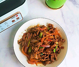 #餐桌上的春日限定#鲜嫩爽滑开胃洋葱滑炒牛肉的做法